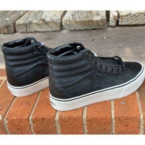 Vans Leather Sk8-Hi Platform 2.0 Shoe